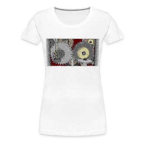 Roboter Shirt - Frauen Premium T-Shirt