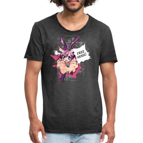 Women's Tank top: Free Hugs (dark clothing) - Men's Vintage T-Shirt