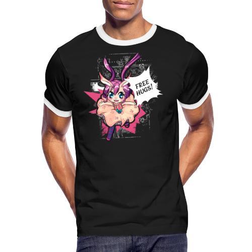 Women's Tank top: Free Hugs (dark clothing) - Men's Ringer Shirt