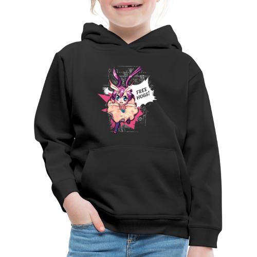 Women's Tank top: Free Hugs (dark clothing) - Kids' Premium Hoodie