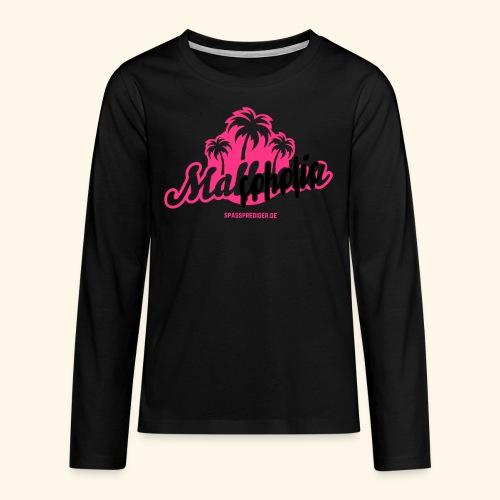 Malcoholic - Teenager Premium Langarmshirt