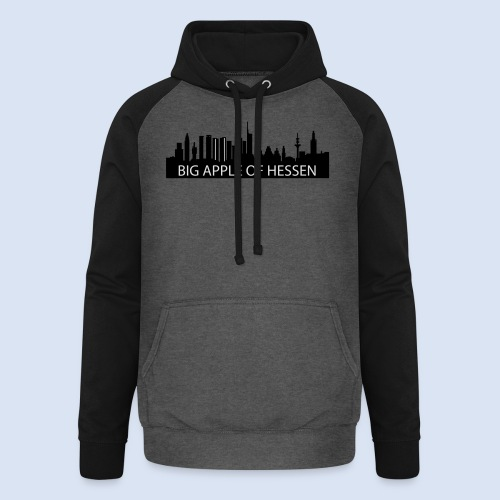 BEMBELTOWN DESIGN - BIG APPLE FRANAKFURT - Unisex Baseball Hoodie