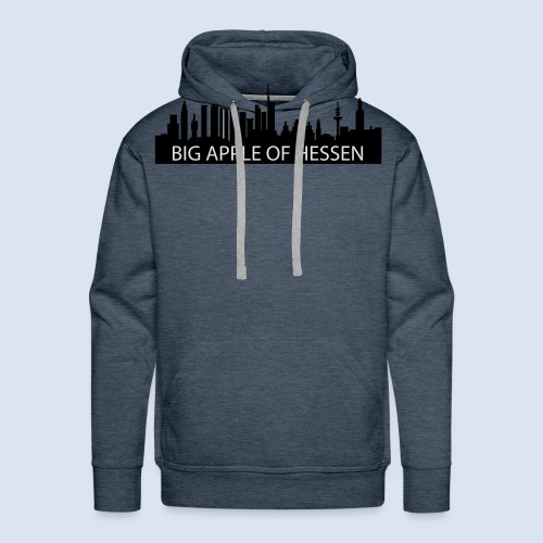 BEMBELTOWN DESIGN - BIG APPLE FRANAKFURT - Männer Premium Hoodie