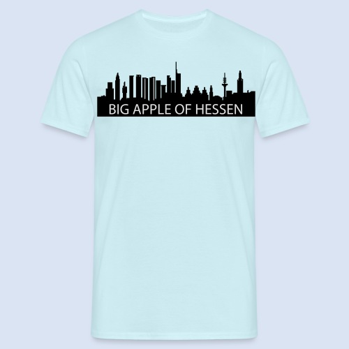 BEMBELTOWN DESIGN - BIG APPLE FRANAKFURT - Männer T-Shirt