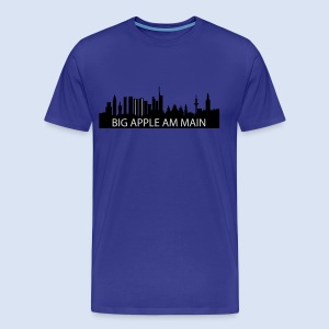 BEMBELTOWN DESIGN - BIG APPLE FRANAKFURT - Männer Premium T-Shirt