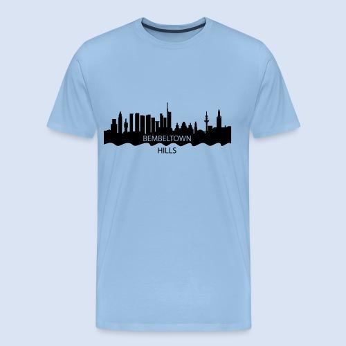 BEMBELTOWN DESIGN - HOLLYWOOD FRANAKFURT - Männer Premium T-Shirt