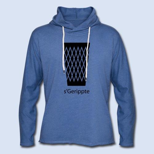 FRANKFURT DESIGN - s'Gerippte - Leichtes Kapuzensweatshirt Unisex