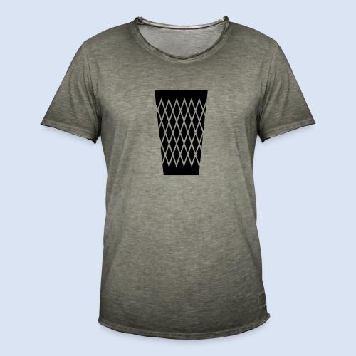 FRANKFURT DESIGN - s'Gerippte - Männer Vintage T-Shirt