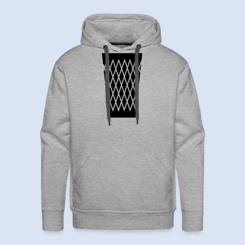 FRANKFURT DESIGN - s'Gerippte - Männer Premium Hoodie