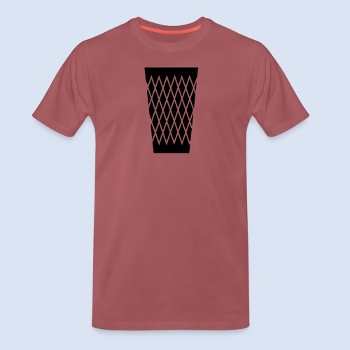 FRANKFURT DESIGN - s'Gerippte - Männer Premium T-Shirt
