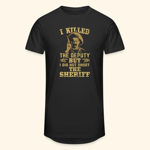 I killed the deputy - Männer Urban Longshirt