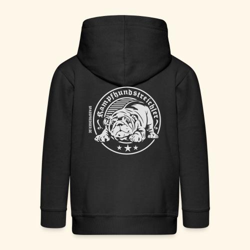 Kampfhundstreichler - Kinder Premium Kapuzenjacke