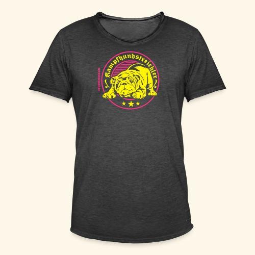 Kampfhundstreichler - Männer Vintage T-Shirt