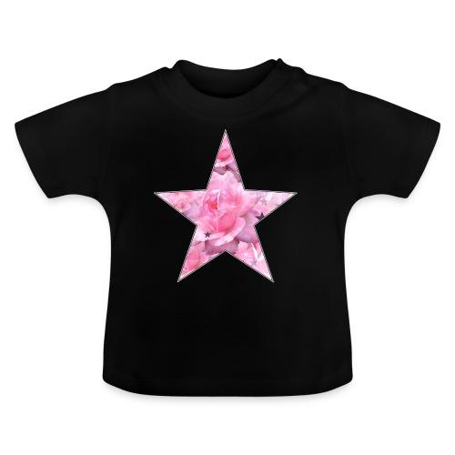 Stern und Rosen - Baby T-Shirt
