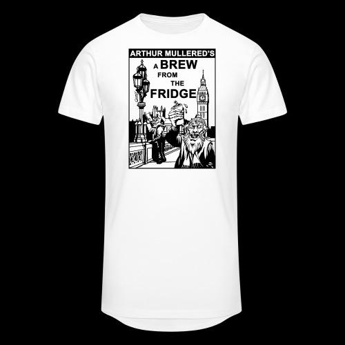 A Brew From The Fridge - light - Men's Long Body Urban Tee
