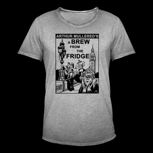 A Brew From The Fridge - light - Men's Vintage T-Shirt