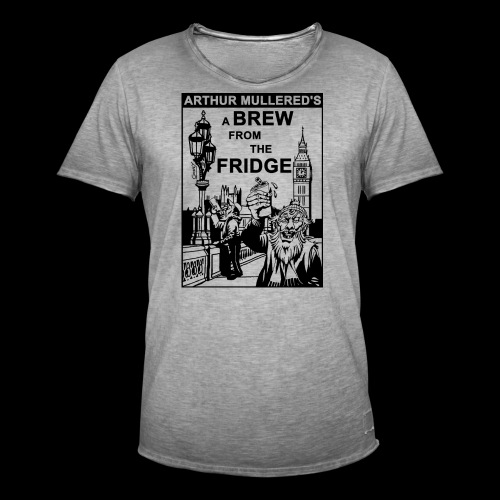 A Brew From The Fridge - light - Men's Vintage T-Shirt
