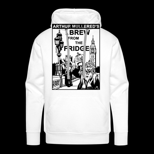A Brew From The Fridge - light - Men's Premium Hoodie