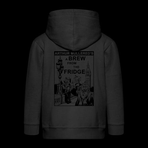 A Brew From The Fridge - light - Kids' Premium Zip Hoodie