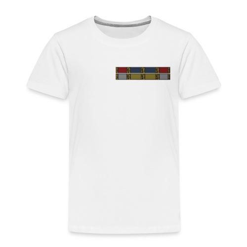 Baseball-T-Shirt mit Ordensband - Kinder Premium T-Shirt