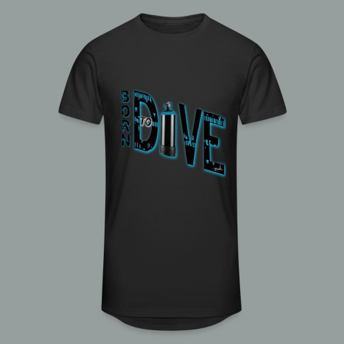 Born to Dive - Männer Urban Longshirt