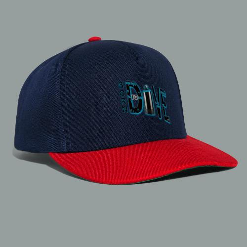 Born to Dive - Snapback Cap