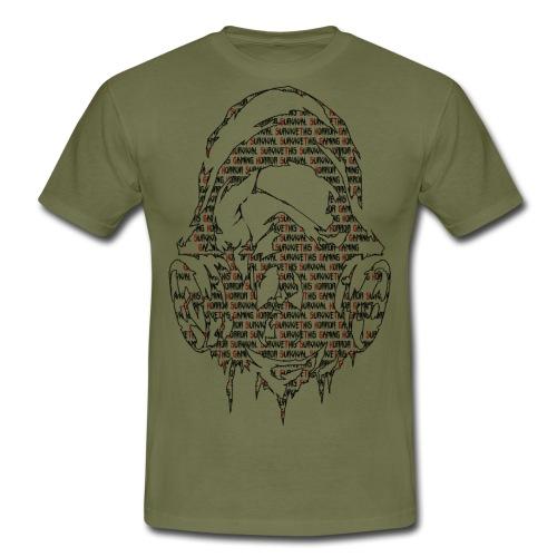 Survivethis Textmask - Männer T-Shirt