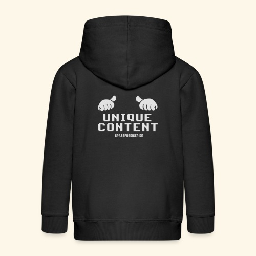 SEO-Shirt Unique Content - Kinder Premium Kapuzenjacke