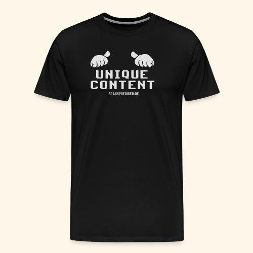 SEO-Shirt Unique Content - Männer Premium T-Shirt