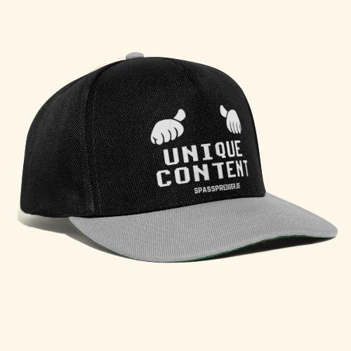 SEO-Shirt Unique Content - Snapback Cap