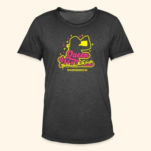 Ballerina - Männer Vintage T-Shirt