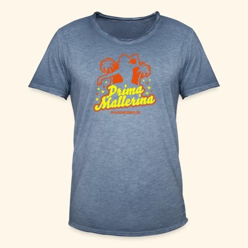 Prima Mallerina - Männer Vintage T-Shirt