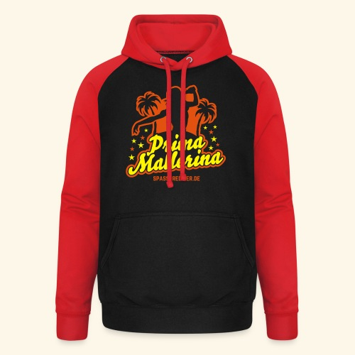 Prima Mallerina - Unisex Baseball Hoodie