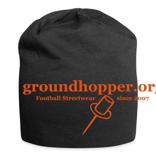 Beutel / groundhopper.org pin - Jersey-Beanie