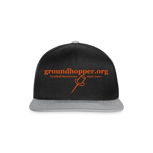 Beutel / groundhopper.org pin - Snapback Cap