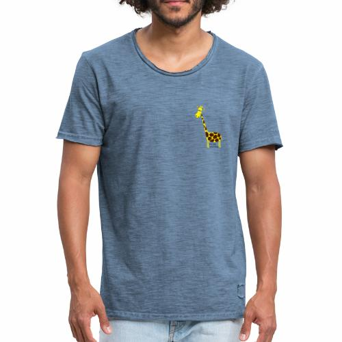 Sooo lange lieb - Männer Vintage T-Shirt