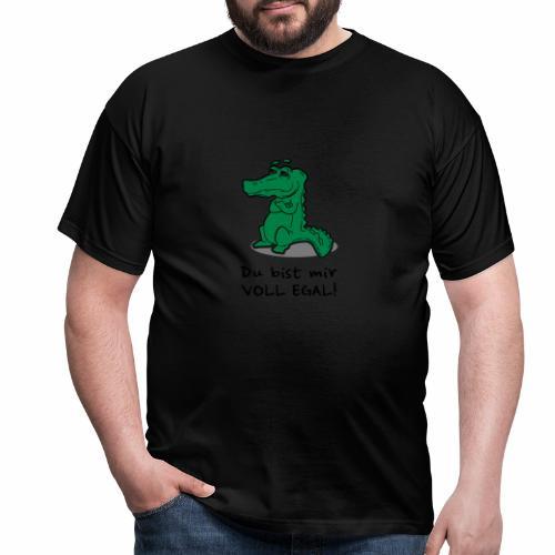 Du bist mir egal - Männer T-Shirt