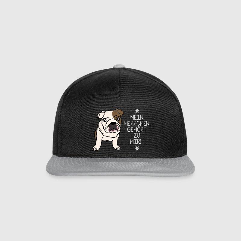Bulldogge mein Herrchen Caps & Mützen - Snapback Cap
