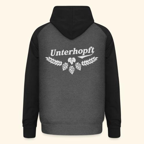 Unterhopft - das Original - Unisex Baseball Hoodie