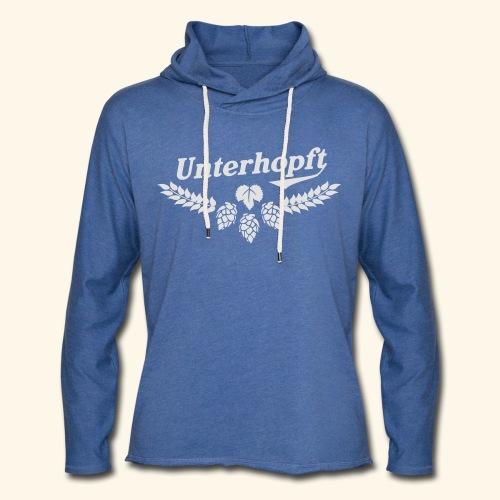 Unterhopft - das Original - Leichtes Kapuzensweatshirt Unisex