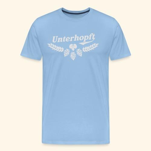 Unterhopft - das Original - Männer Premium T-Shirt