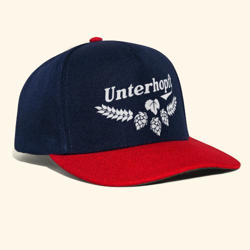 Unterhopft - das Original - Snapback Cap