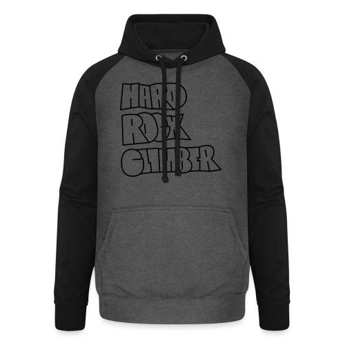 Hard Rock Climber Pullover & Hoodies - Unisex Baseball Hoodie