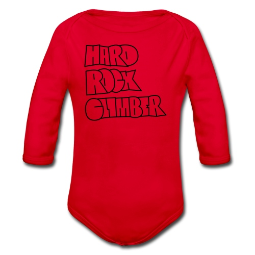 Hard Rock Climber Pullover & Hoodies - Baby Bio-Langarm-Body