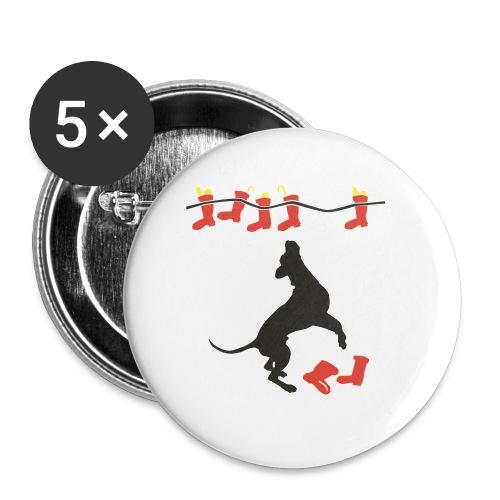 Nikolausdogge - Buttons klein 25 mm
