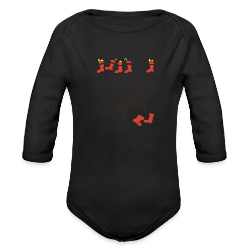 Nikolausdogge - Baby Bio-Langarm-Body