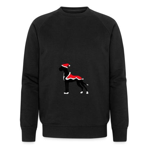 Weihnachtsdogge - Männer Bio-Sweatshirt von Stanley & Stella