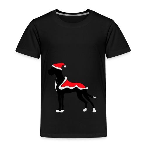 Weihnachtsdogge - Kinder Premium T-Shirt