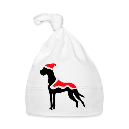 Weihnachtsdogge - Baby Mütze