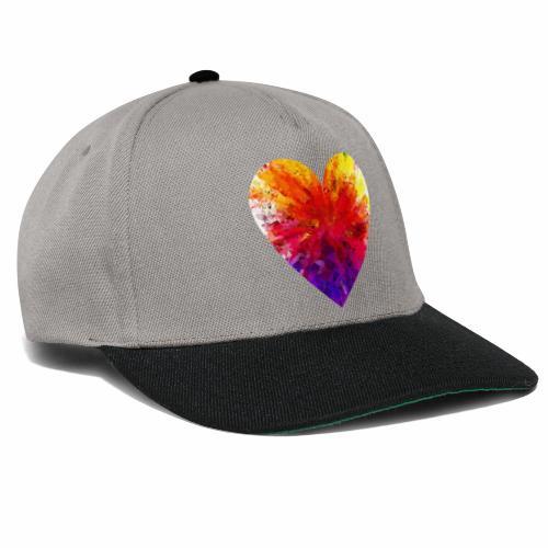 Herz aus Kristallen - Snapback Cap